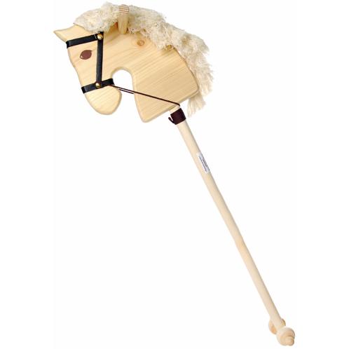 Лошадка деревянная на палке